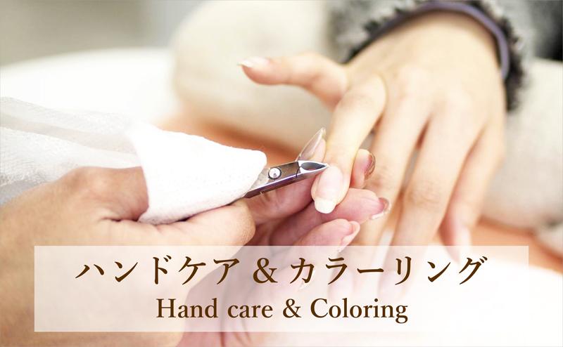 ハンドケア&カラーリング Handcare&Coloring